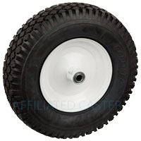 "10-011FW 4.5 C 3/4"" BB - Pneumatic Wheel Assembly"