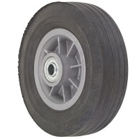 "SN80UO52 - 8 x 2-1/2"" Semi Pneumatic Wheel 5/8"" Bearings"