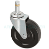 "08SR30AB8090YY - 3"" Light Duty Swivel Caster - Grip Ring Stem"