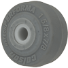 "1.00001.441 - 1-5/8"" x 7/8"" Performa Rubber Wheel"