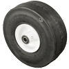 "4.10/3.50-4 OH 5/8"" - 10"" Pneumatic Wheel with Slick Tread"
