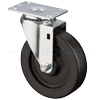 "13HP50GB8206YY - 5"" x 1-1/4"" Swivel Caster Polyolefin Wheel"