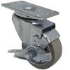 "13NM30GI4306TY - 3"" x 1-1/4"" Swivel Caster with Wheel Brake"