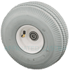 "15-0484S - 10"" Gray Pneumatic Wheel"