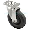 "15PO50GZ5906ZY - 5"" x 1-1/4"" Stainless Steel Swivel Caster"