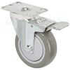 "17PP40GI4406YY - 4"" x 1-1/4"" Total Lock Swivel Caster"