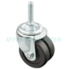 "1F5903709000118 - 3"" Dual Wheel Swivel Caster"
