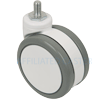 "2.4504.409.1 - 4"" (100mm) Solus Caster - Free Swivel"