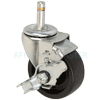 "23PO30GB8291TZ - 3"" x 1-1/4"" Swivel Caster with Brake"
