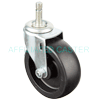 "23PO40DB8191YY - 4"" x 1-1/4"" Swivel Caster 7/16""  Grip ring stem"