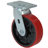 "27MU60JK0417YY - 6"" x 2"" Swivel Poly Wheel"