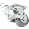 "27NM40JI0417FP - 4"" x 2"" Swivel Caster - Face Brake and Position Lock"
