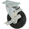 "3025-01-SR-TLB - 2-1/2"" x 13/16"" Swivel Caster Brake"