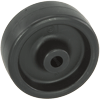 "3114-1 - 3"" Polyolefin Wheel - Hard Plastic"