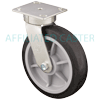 41NM80JB0417YY - 8 x 2 Swivel Caster - Soft Tread Wheel