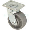 "48-GTB-0520-S - 5"" x 2"" Swivel Caster with Elastomer Wheel"
