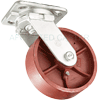 "49DS60JR0417YY - 6"" x 2"" Forged Swivel Caster -"