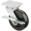 "49PH60JB0417AY - 6"" x 2"" Forged Swivel Caster - Wheel Brake"