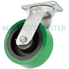 "57EX80LG7019YY - 8"" x 3"" Swivel Caster With Extra Heavy Poly"