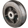 "RS80KB23 - 8"" x 2-1/2"" Rubber on Steel Wheel"
