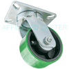 "61PU60JG2425YY - 6"" x 3"" Swivel Caster - Poly Wheel"