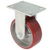 "7-8688-979 - 8"" x 3"" Rigid Caster - Poly On Aluminum Wheel"