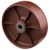 "CD10LR24 - 10"" x 3"" Crown Ductile Steel Wheel"