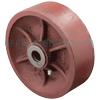 "DS60JR04 - 6"" x 2"" Ductile Steel Wheel"