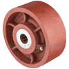 "DS60KR23 - 6"" x 2-1/2"" Ductile Steel Wheel"