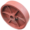 "DS80JR84 - 8"" x 2"" Ductile Steel Wheel"