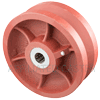 "DV80LW24 - 8"" x 3"" Ductile Steel Wheel"