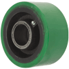 EX60LG85 - 6 x 3 Extra Duty Poly Wheel - Plain bore