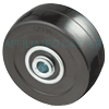 "HR30GB42 - 3"" x 1-1/4"" Hard Rubber Wheel"