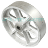 "HS80JS04 - 8"" x 2"" Heavy Duty Steel Wheel"