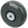 "HU60JI63 - 6"" x 2"" Solid Elastomer Wheel"