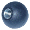 "KN6CB221 - 1-1/4"" Threaded Ball Knob 3/8""-16"