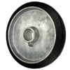 "M101 - 8 x 1-5/8"" Rubber on Aluminum Wheel"
