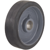 "MR10030Z0B-GRAY - 10"" x 3"" Rubber On Iron Wheel"