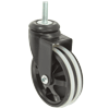 "MS30BI31YY - 3"" Swivel Caster - 5/16""-18 x 1"" Threaded Stem"