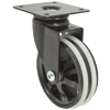 "MS30BIP2YY - 3"" Swivel Caster - Plate Mount"