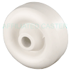 "PO30GJ83 - 3"" x 1-1/4"" White Hard Plastic Wheel"