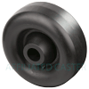 "PO30GZ83 - 3"" x 1-1/4"" Hard Plastic Wheel"