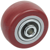 "PP25GM42 - 2-1/2"" x 1-1/4"" Polyurethane Wheel"