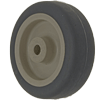 "PP30DT81 - 3""  x 1"" Polyurethane on Polyolefin Plain Bore Wheel"