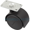 "PPA50113BK-U - 2"" Twin Wheel Caster"