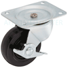 "PSQ40121ZN-3H - 4"" General Duty Caster - Wheel Brake"