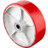 "PU10LV24 - 10"" x 3"" Polyurethane On Steel Wheel"