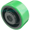 "PU34HG03 - 3.25"" x 1-1/2"" Polyurethane On Steel Wheel"