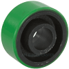 "PU34HG84 - 3.25"" x 1-1/2"" Polyurethane On Steel Wheel"