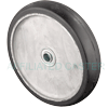 "RA80HB52 - 8"" x 1-1/2"" Rubber Mold-On-Aluminum Wheel"